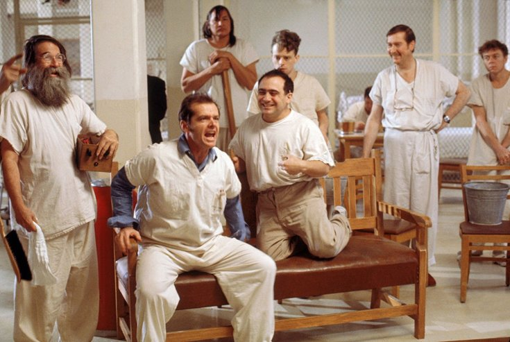 a review of the film one flew over the cuckoos nest Moviebabble's attempt to watch and review every movie on the imdb top 250 list starts with a classic, one flew over the cuckoo's nest.