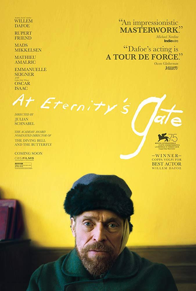 Eternitys gate poster